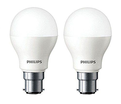 Buy 9 Philips Base B22 7 Watt Led Bulb Cool Day Lightpack Of 2 Led Bulb Philips Led Bulb