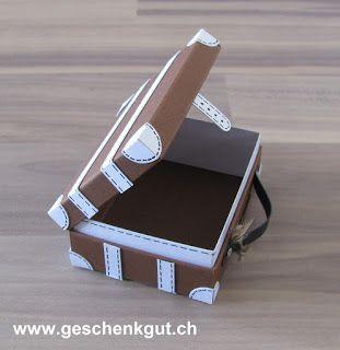 berraschungsbox explosionsbox geschenkgutschein geldgeschenk reise geburtstag koffer. Black Bedroom Furniture Sets. Home Design Ideas