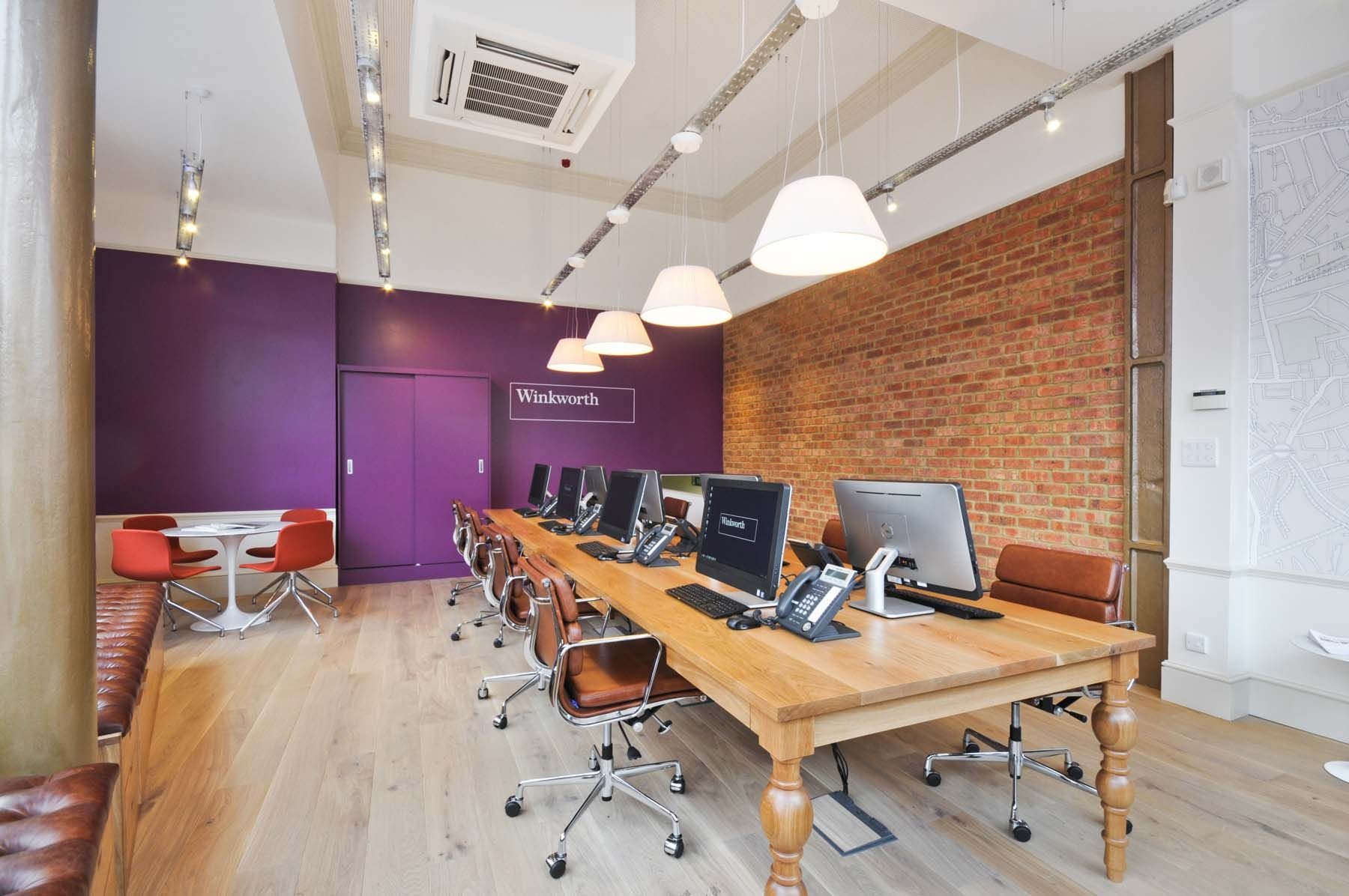Winkworth estate agents shepherds bush office for Estate agency interior design