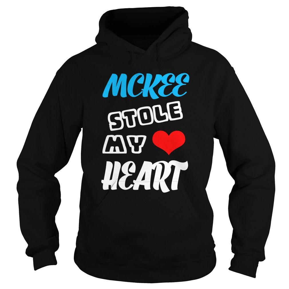 Mckee Stole My Heart  TeeForMckee