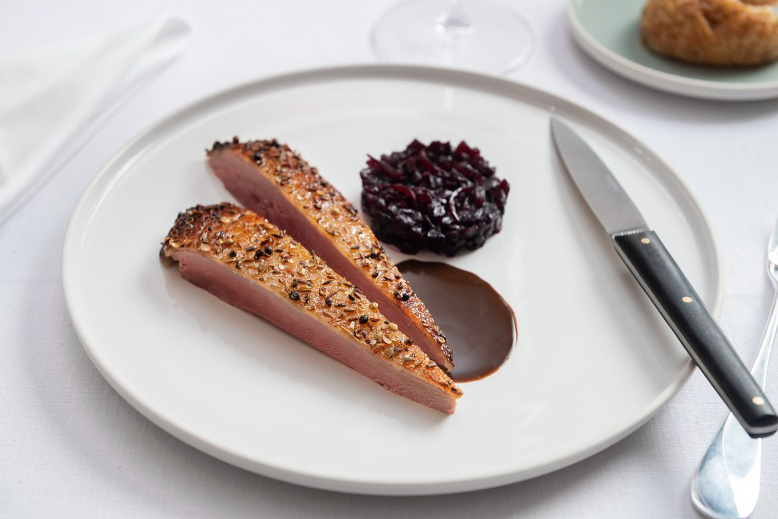 Michelin star shoein davies and brook serves critic jay