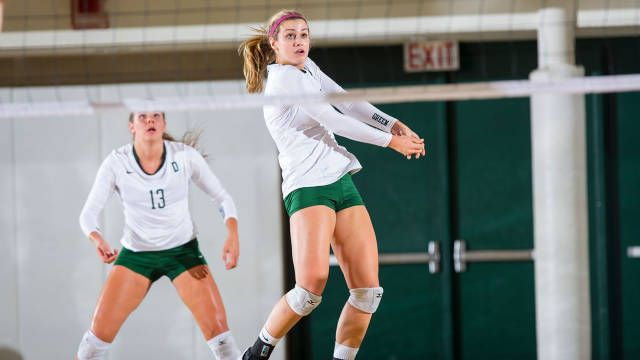 Volleyball Drops Home Match To Cornell Volleyball Women Drop