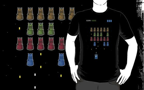 space-time invaders