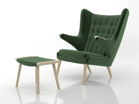 PP Mobler PP19 Teddy Bear Chair 3d model | Hans Wegner