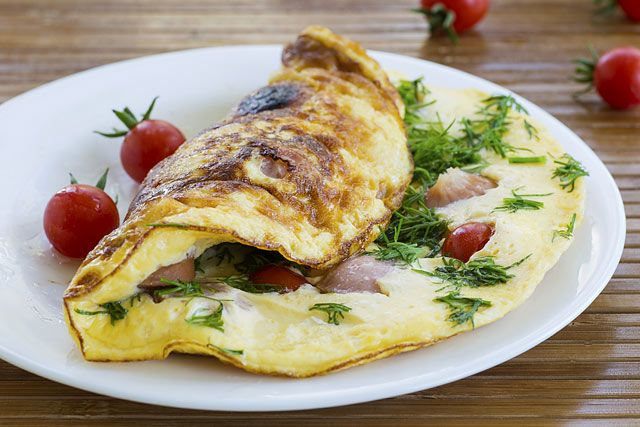 fogyni omlett