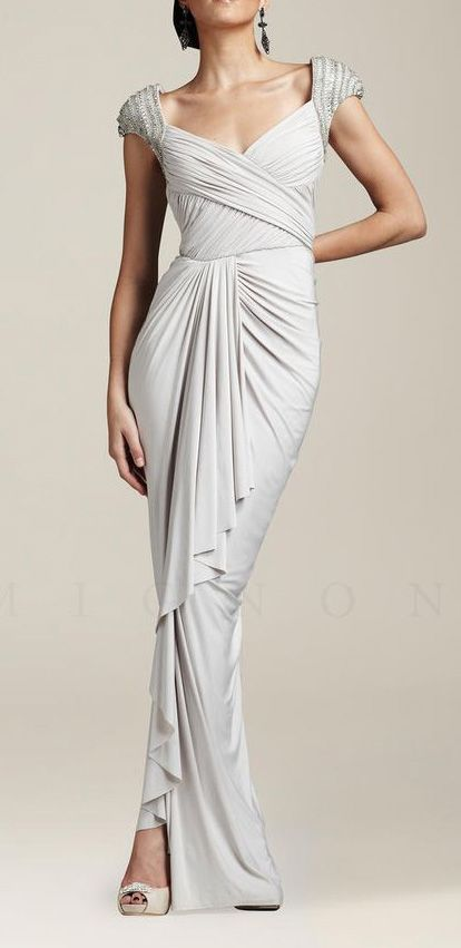 Mignon Dress VM650 White | Can you be my Eternity? | Pinterest ...