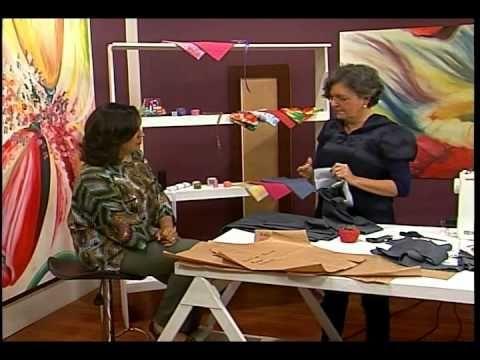 Com Darlene Nobre - Vestido. Chemise Dicas de Costura | Sabor de Vida 22.07.2011