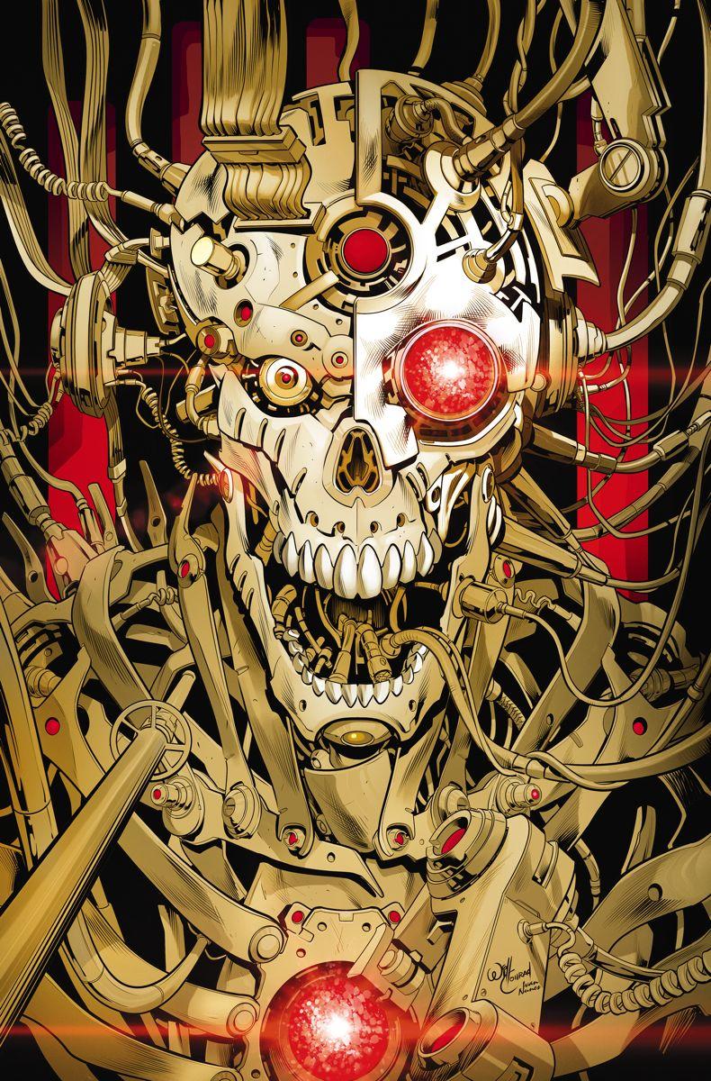 """CYBORG # 15AFTERMATH"""" segunda parte!  El sueño horrendo de Anomaly se realiza cuando el virus de OTAC cambia casi toda la carne y la sangre en la tierra en acero duro frío.  Ahora la última esperanza de la humanidad, Cyborg, Beast Boy, y una banda de rebeldes liderados por la madre de Vic, Elinore Stone, se embarcan en una misión suicida para encontrar la cura.  ¿Su primer obstáculo?  El super-científico infectado Doc Magnus y su recién retorcido ejército robot, el Metal Men!"""