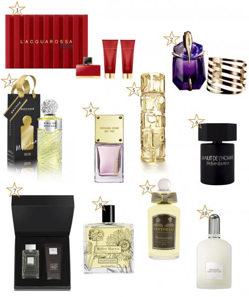 Spécial Noël : Les parfums à mettre au pied du sapin