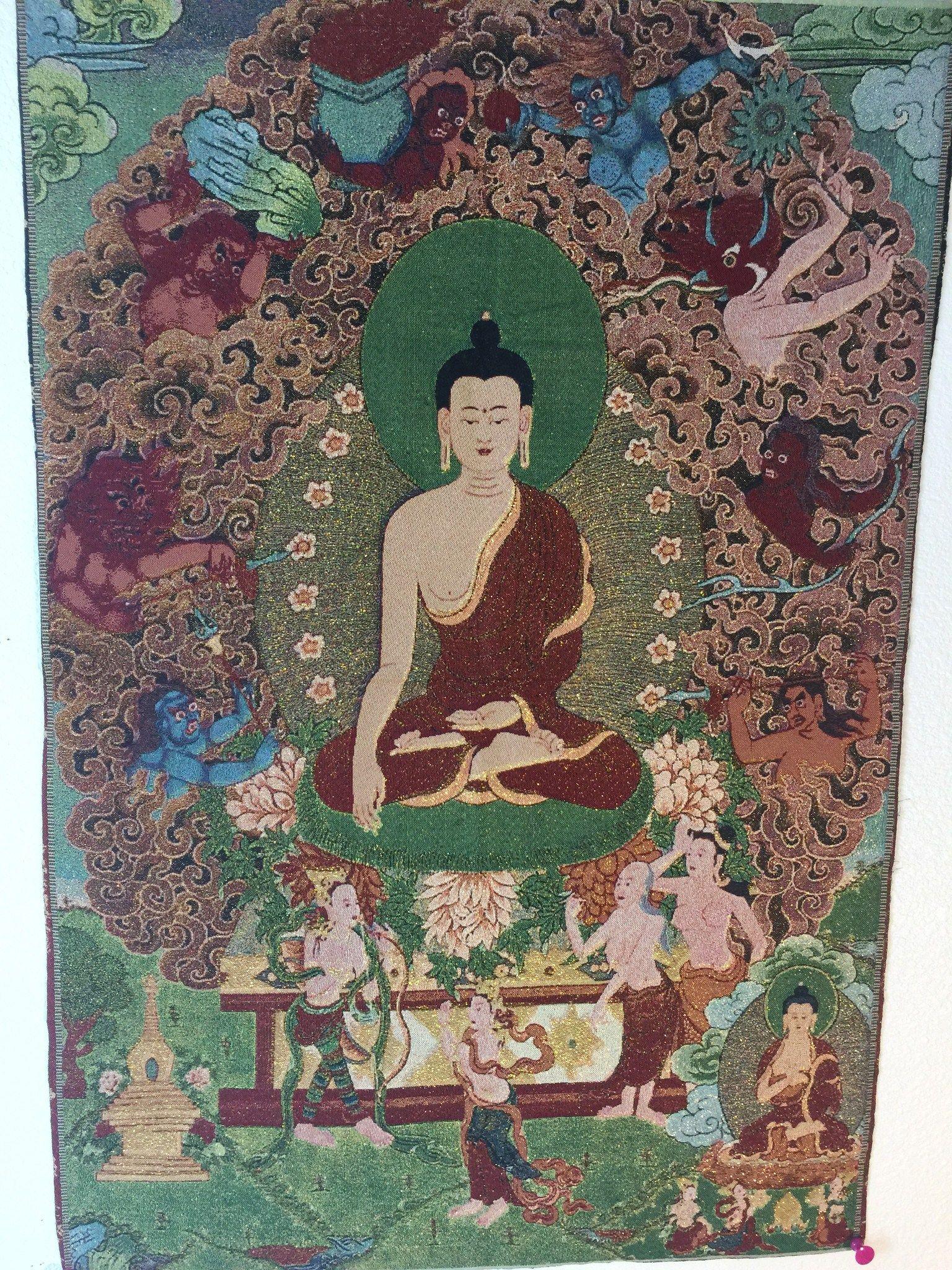 Buy Inspiration Buddhist Art Thangka Gautama Buddha, And Fill Your