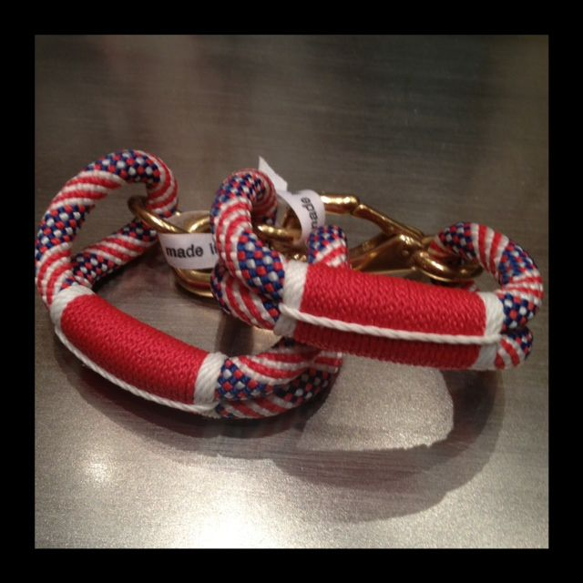 Stars and stripes forever! Made in America by the @Matty Chuah ROPES   Shana Aldrich Ready.   Rope, My style, Rope  bracelet