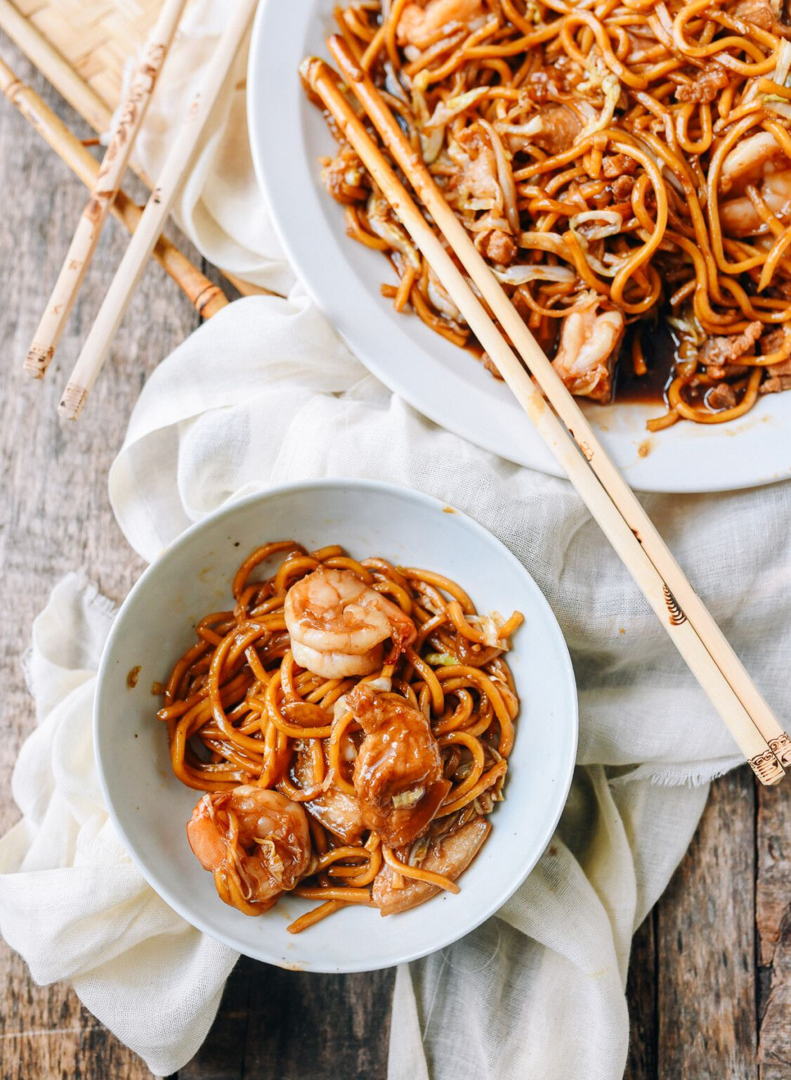 Malaysian Hokkien Mee Kl Version Recipe Asian Cooking Recipes Asian Recipes