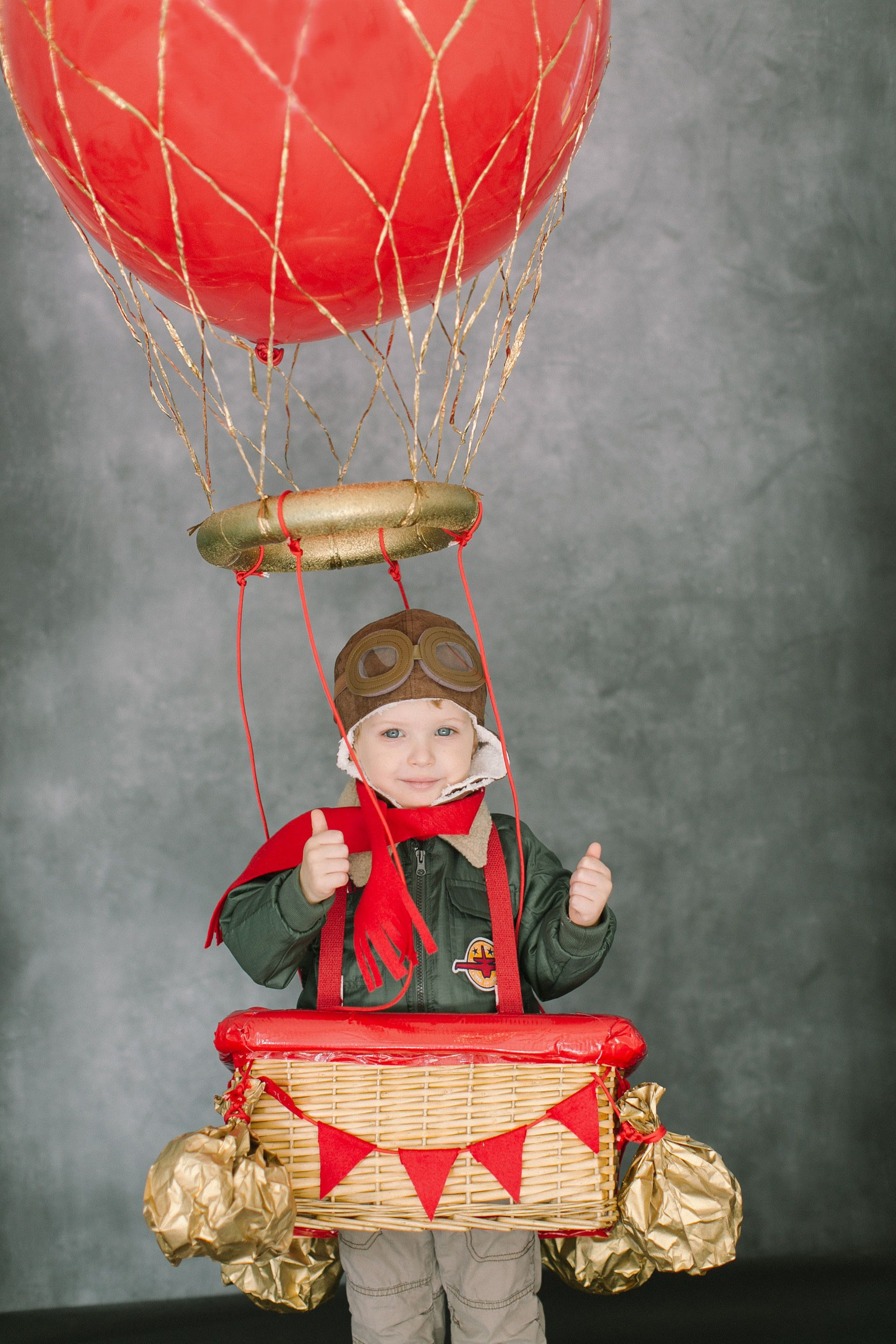 DIY Halloween Costume A Hot Air Balloon Halloween diy