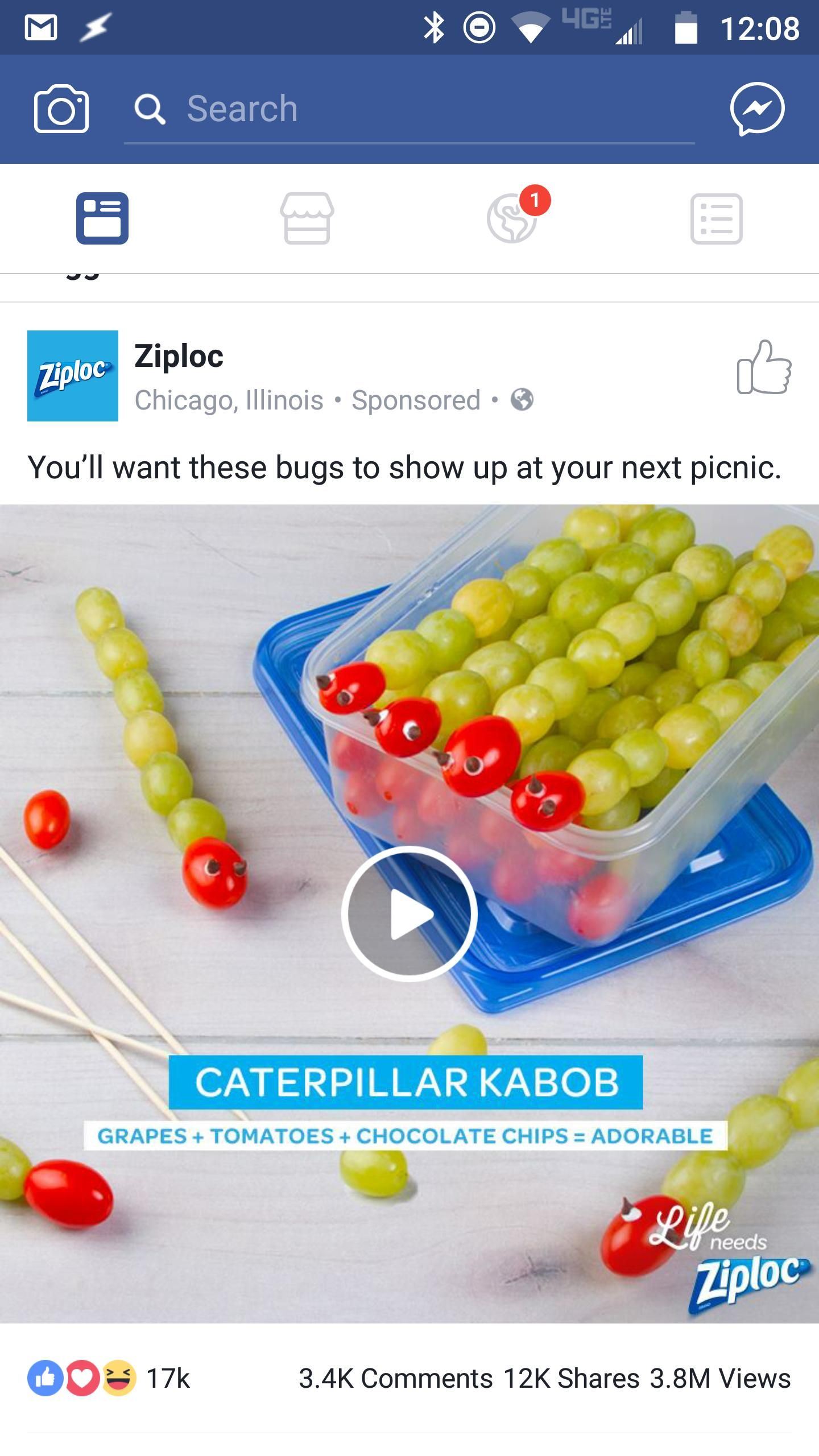 Misc Ziploc What Were You Thinking Recipes Food