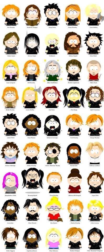 Harry Potter personagens