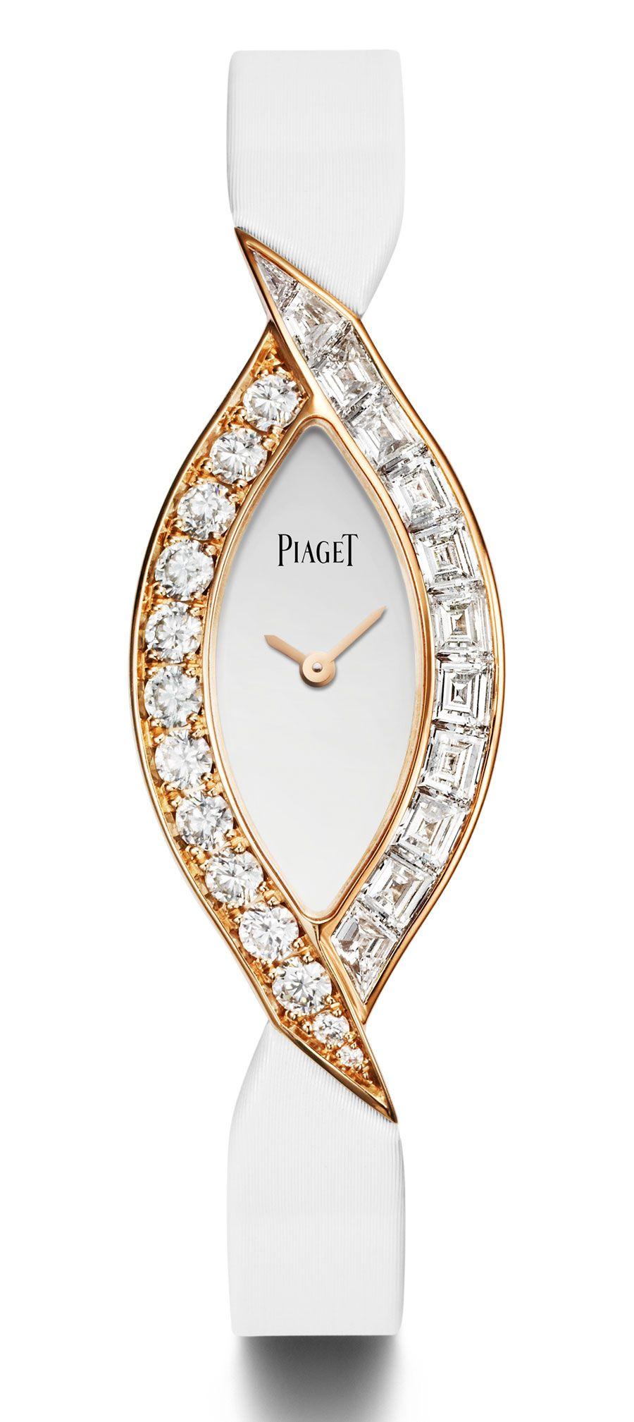 0e20f274064e Piaget Couture Précieuse diamond and rose gold jeweller watch ...
