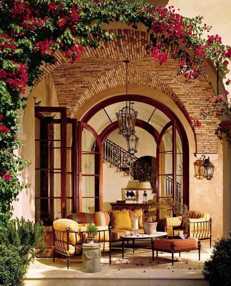 Photo of 61+ Magnificent Rustic Interior with Italian Tuscan Style Decorations #interior …