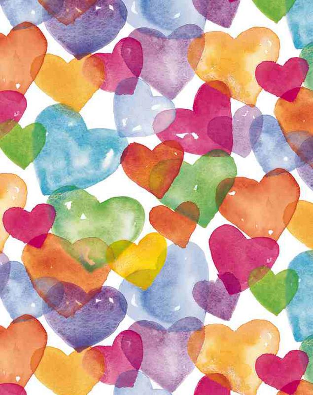 Pin by DebScarlett on b.my.valentine. | Watercolor heart ...