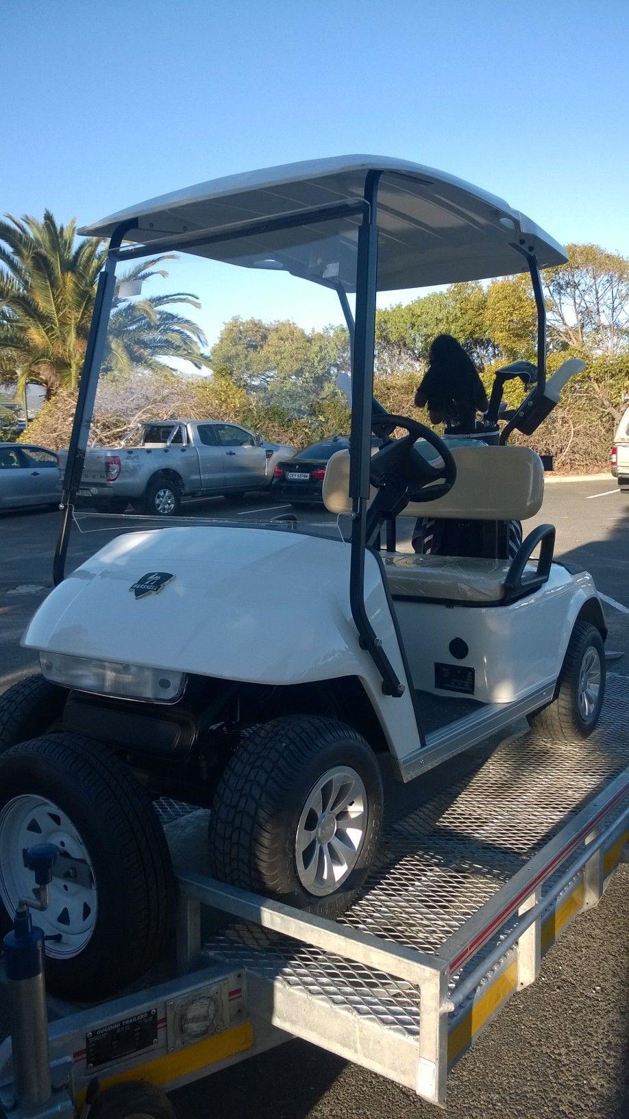 Customers feeling when driving marshell golf cart golf