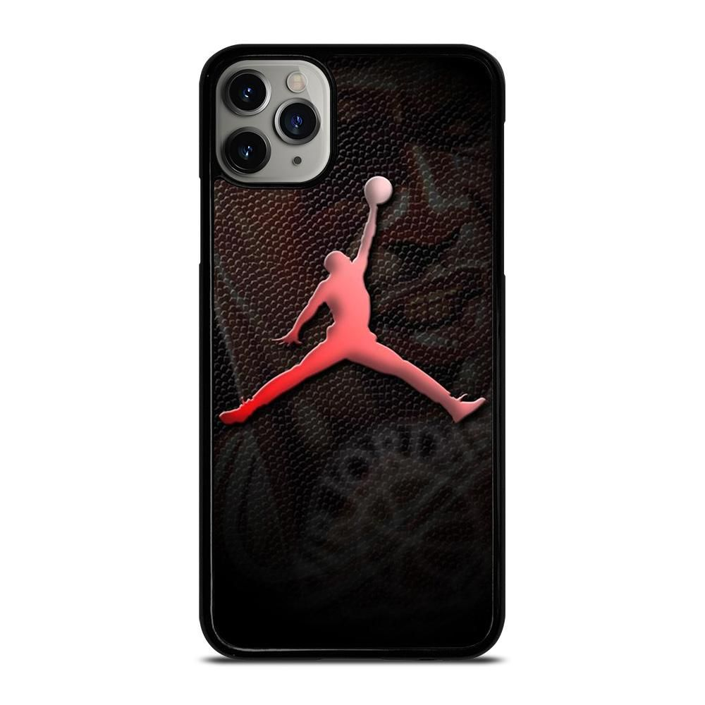 Air jordan logo leather iphone 11 pro max case casefine