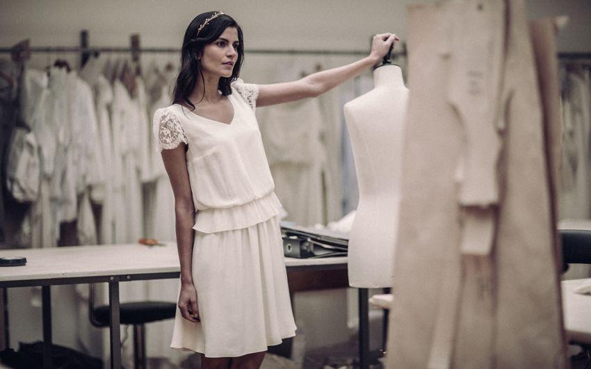 Robe de mariee courte collection 2016