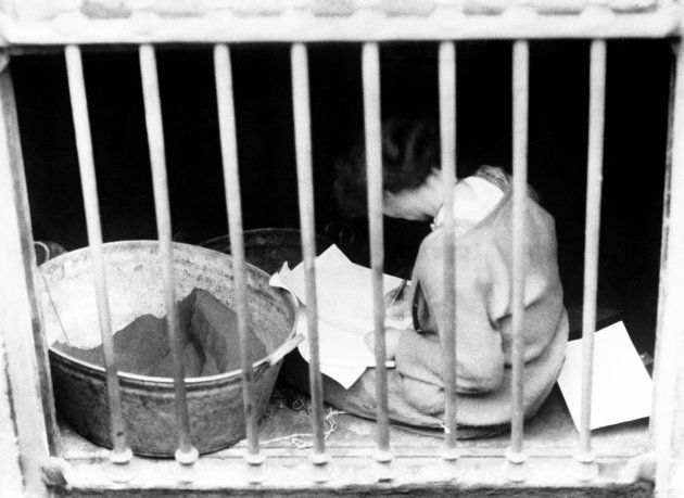 Constance Markiewicz in a prison cell in Dublin on 30 April 1916. | Ireland where the ancestors once were in 2019 | Ireland 1916, Dublin ireland, Ireland
