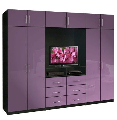 Exceptional Aventa TV Wardrobe Wall Unit X Tall   Bedroom TV Furniture Plus Storage