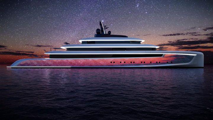 Moonstone concept yacht stars van geest design