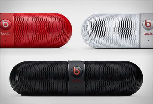 The Beats by Dr  Dre Pill is a portable Bluetooth® speaker