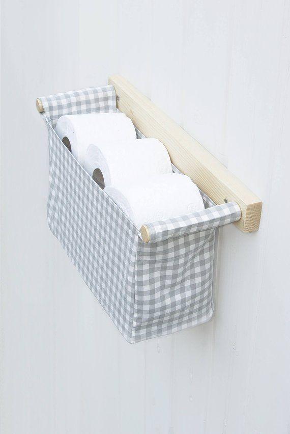 Decorative Toilet Paper Holder Toilet Organizer Tissue Etsy