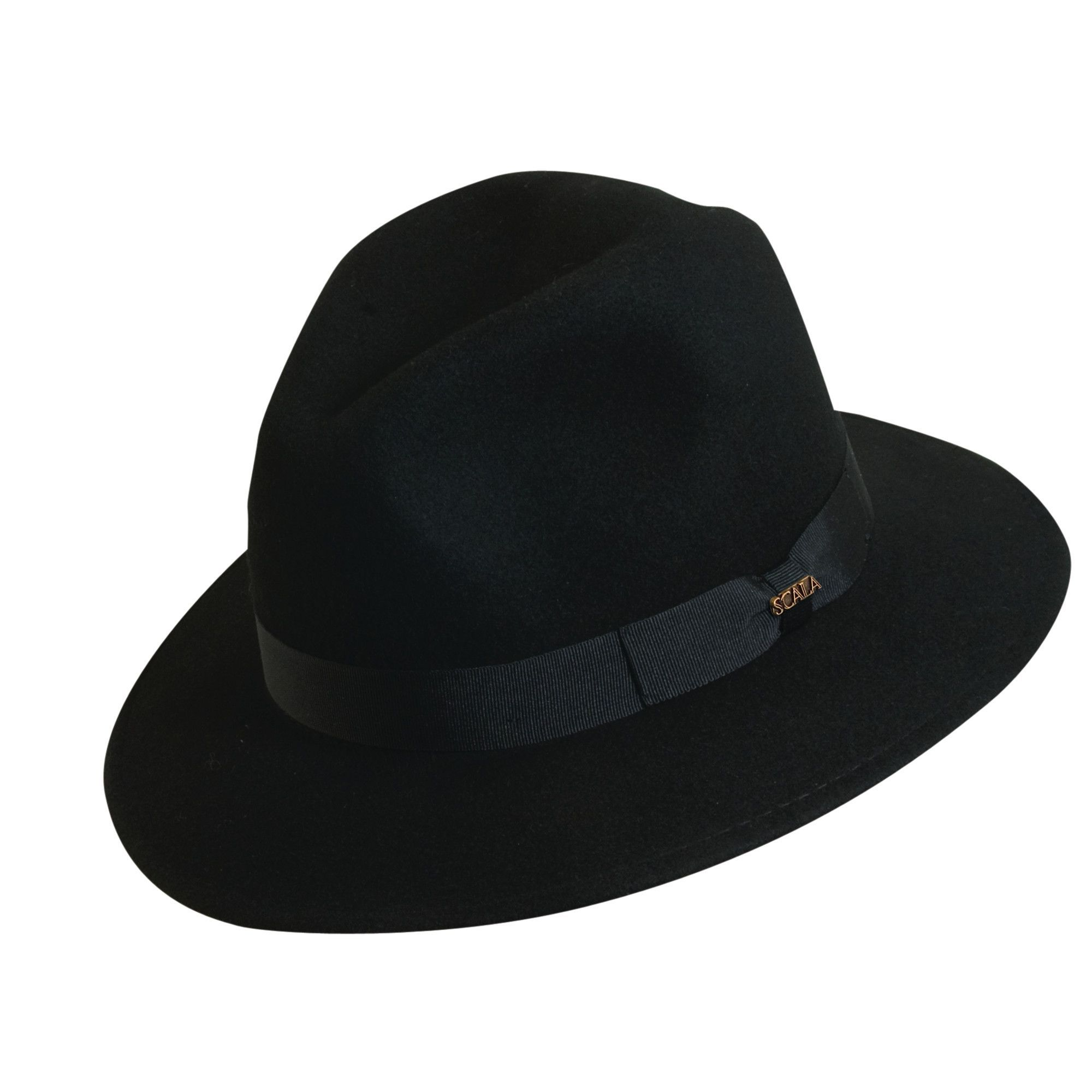 17d0ae6a2c2 Scala Classico Men s 100% Wool Crushable Safari Hat