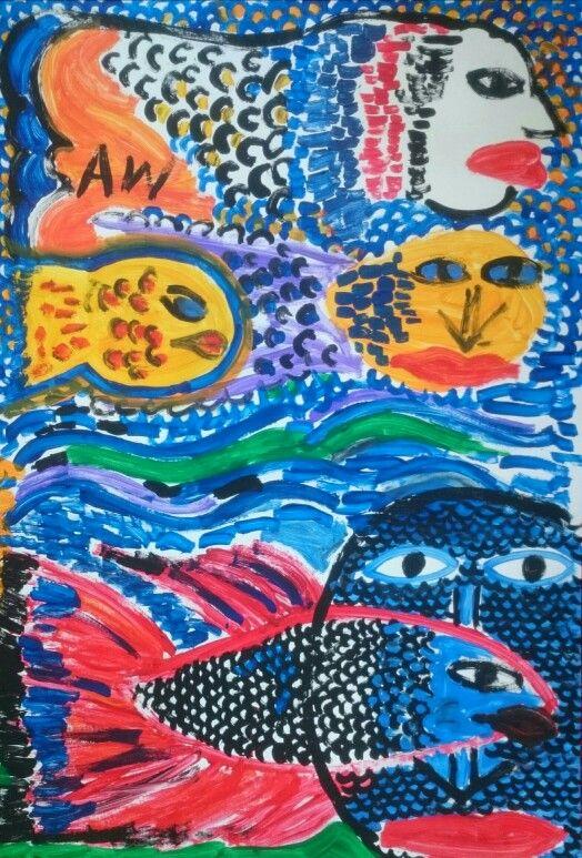 Der Flussgott und seine Kinder - Anna Wonnebauer