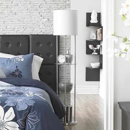 Floor Lamp with 2 Glass Shelves - Sears | Sears Canada | Apartment ...