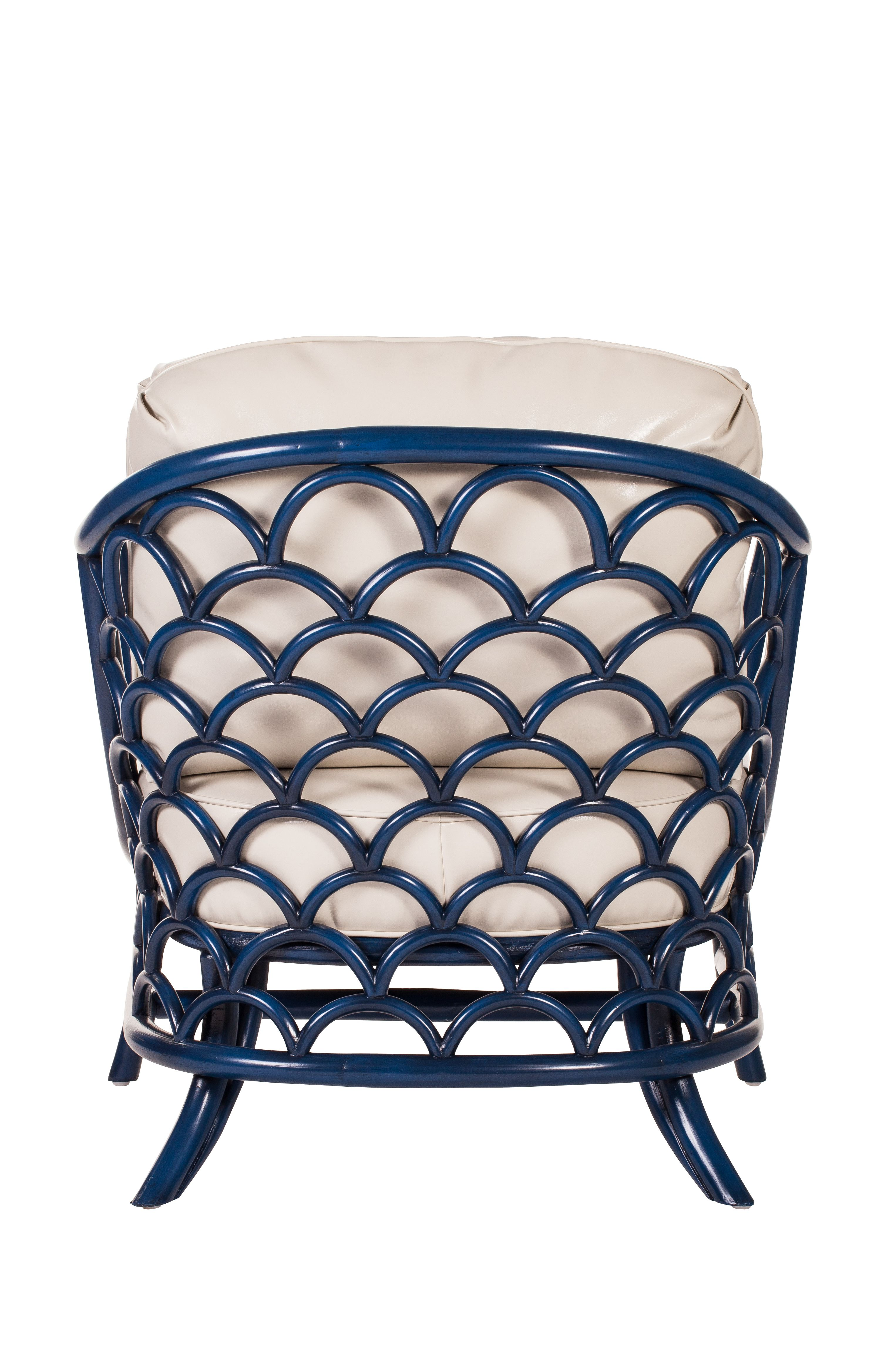 the back of the koi lounge chair by david francis furniture  - the back of the koi lounge chair by david francis furnituredavidfrancisfurniture authenticfurnishings