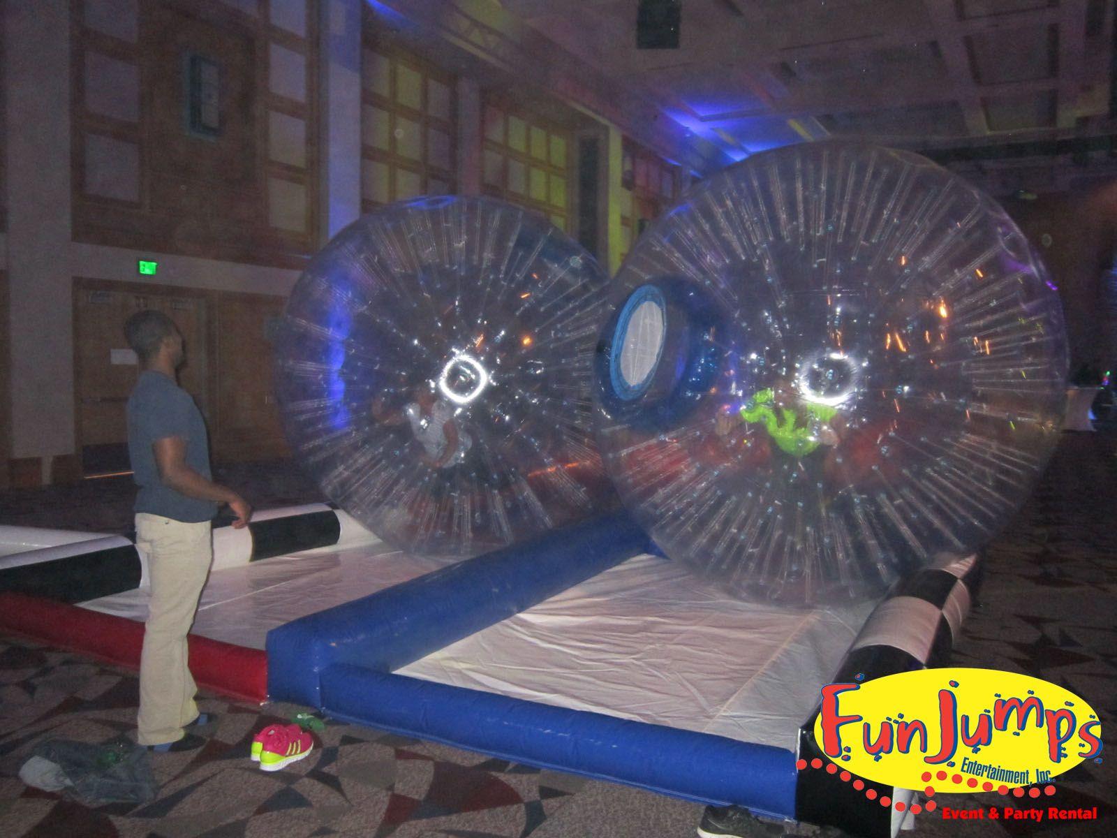 Zorb Balls Minnesota inflatable rental fun zorbball