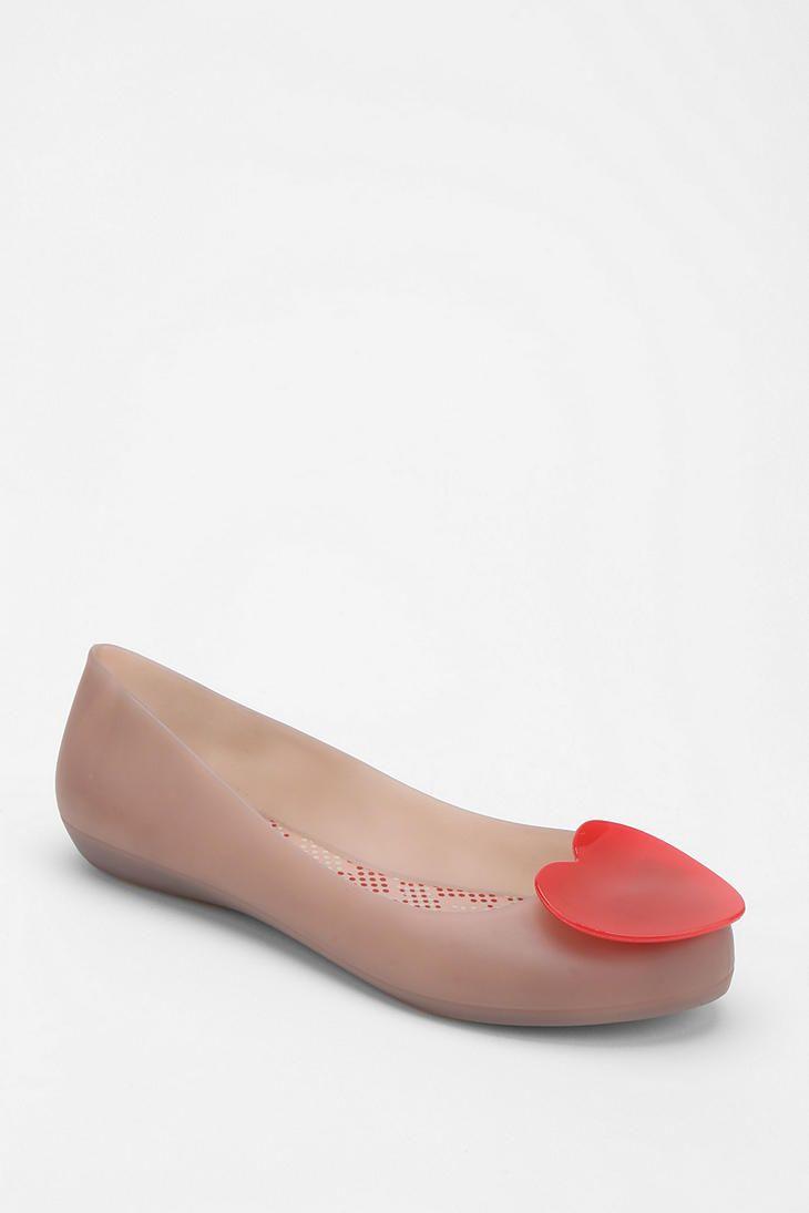 0f0220d5f6fa9 Mel By Melissa Shoes Pop Heart Flat
