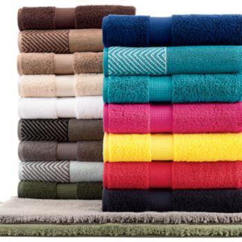 Apt 9 Highly Absorbent Bath Towels Towel Bath Towels White