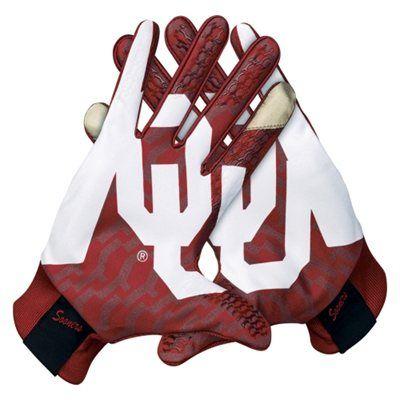 Nike Oklahoma Sooners Stadium Gloves Crimson Sooners Oklahoma Sooners Oklahoma Sooners Apparel