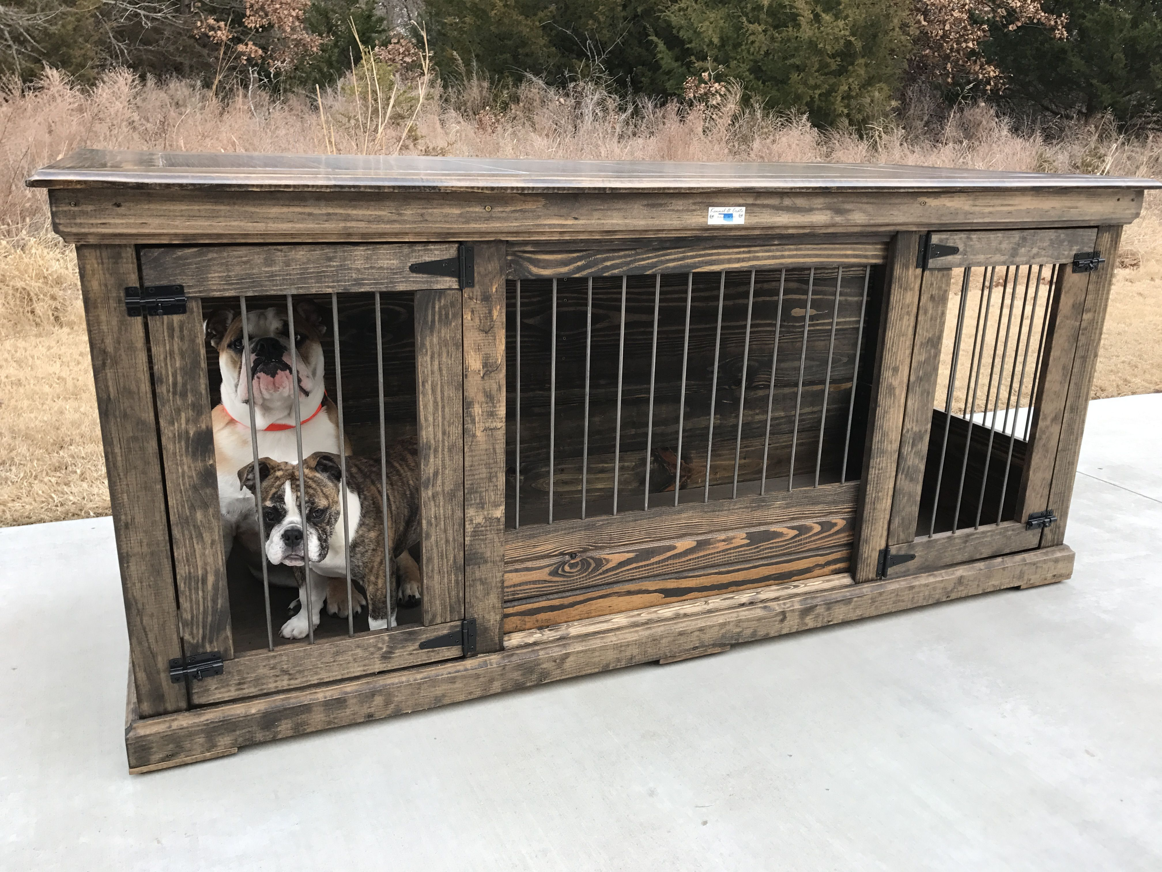 Rustic Classic Piece To Replace Your Dogs Wire Crate Perfect