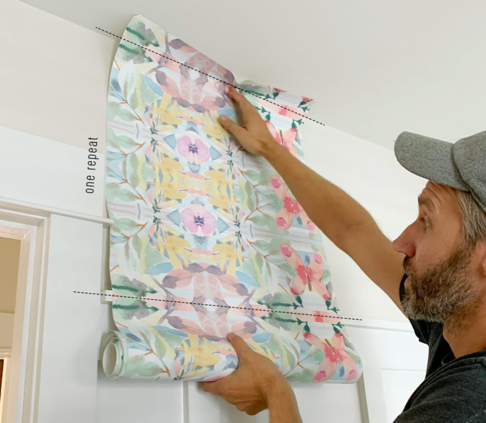 How To Hang Peel Stick Wallpaper On Video Young House Love Peel And Stick Wallpaper Sticky Wallpaper Young House Love