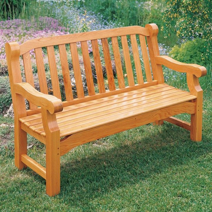 English Garden Bench Plan Garden Benches Woodworking