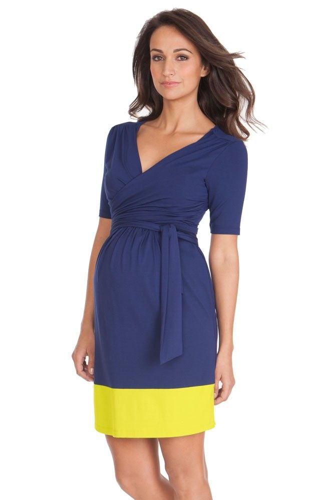30756d78eb5 Seraphine Enja Wrap Nursing Dress in Blue   Neon. We have 31 new arrival  products this week. Please use coupon code NewProducts to receive 15% off  these ...