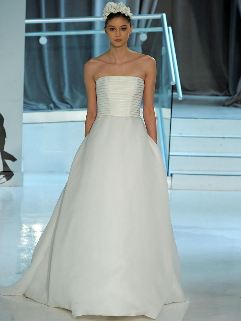 Peter Langner Spring 2018: Edgy and Elegant Wedding Dresses