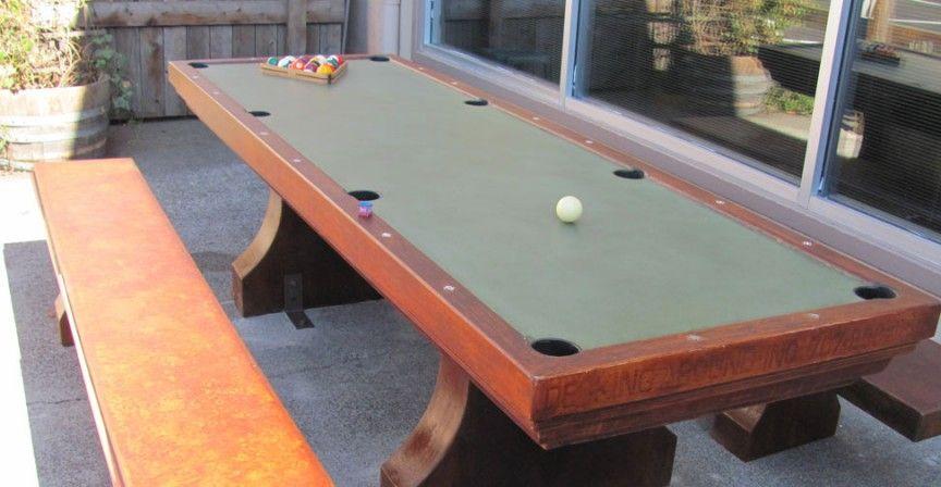 Outdoor Concrete Table Cheng Concrete Exchange Outdoor Pool Table Pool Table Concrete Table