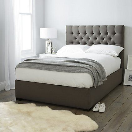 Richmond Linen Union Bed Beds The White Company White Bed