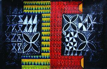 frangipani tapa patterns - Google Search