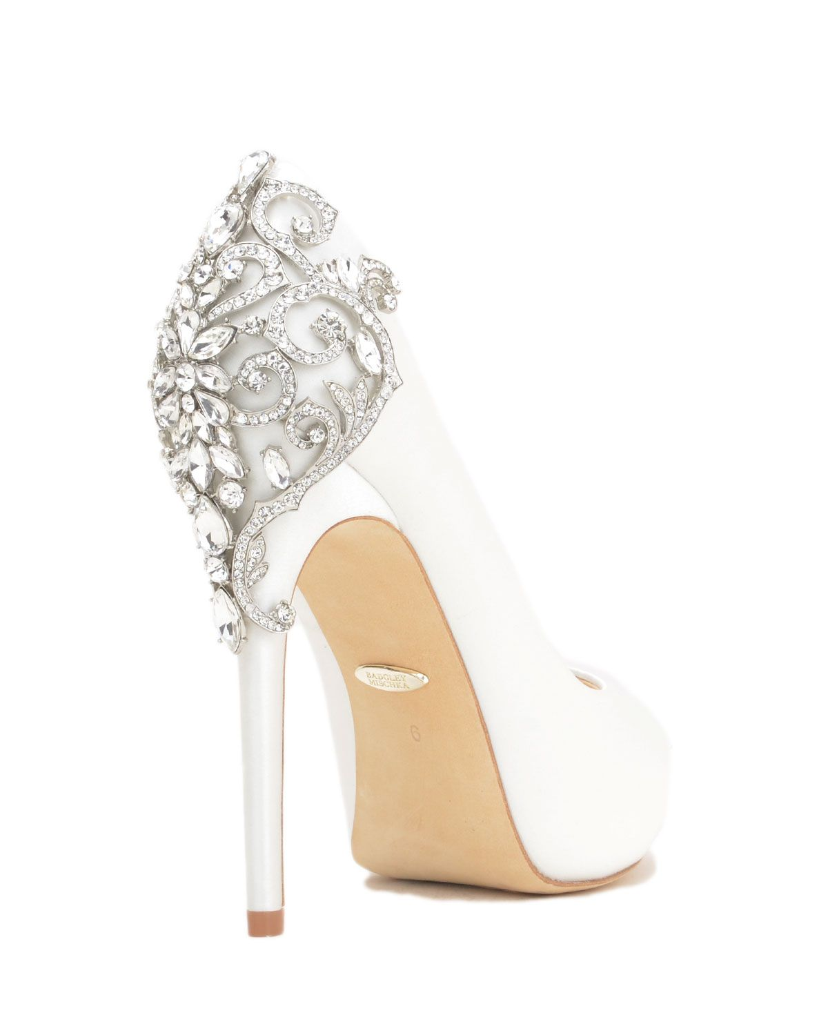 1a055f24f1 Badgley Mischka Karolina Embellished Evening Shoe, now available at the  official website. Free shipping, returns and exchanges.