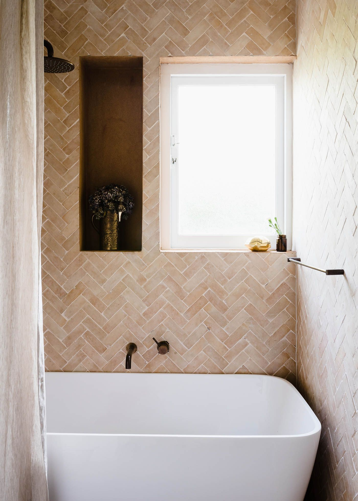 Gabbe interior tilesofezra georgia ezra home feature shower mosaic handmade zellige moroccan tiles available in australia and worldwide tiles of ezra promotes the sustainability of our high quality craftsmanship and dailygadgetfo Images
