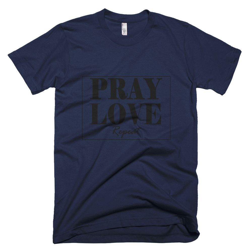 Pray, Love.... Repeat Tee - Men