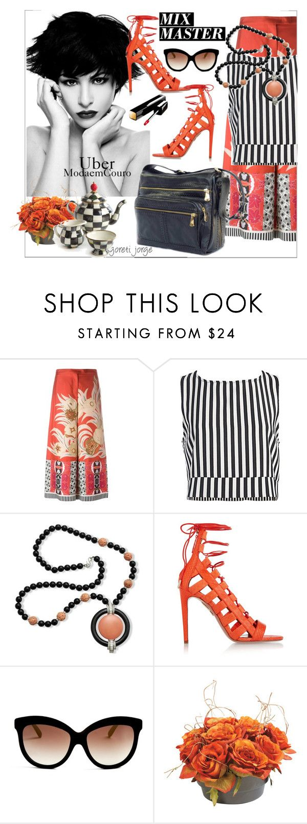 """Mix Master"" by goreti ❤ liked on Polyvore featuring Etro, Sans Souci, Kenneth Jay Lane, Aquazzura, Italia Independent, Ethan Allen, ubermodaemcouro and polyvoeeditorial"